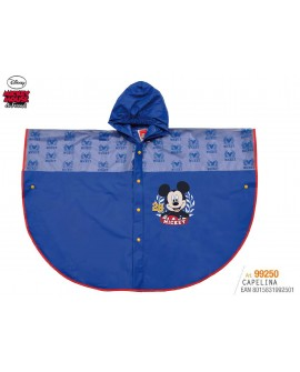 Capelina impermeable Mickey
