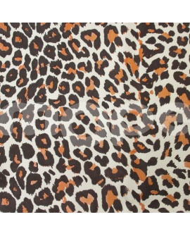 Papel de regalo leopardo.
