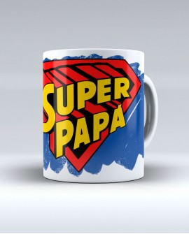 "Taza ""Super papá"""