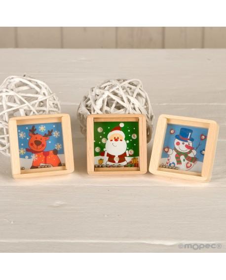 Pasatiempos navideño de 3 modelos surtidos.