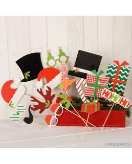 Accesorios photocall navideño surtido