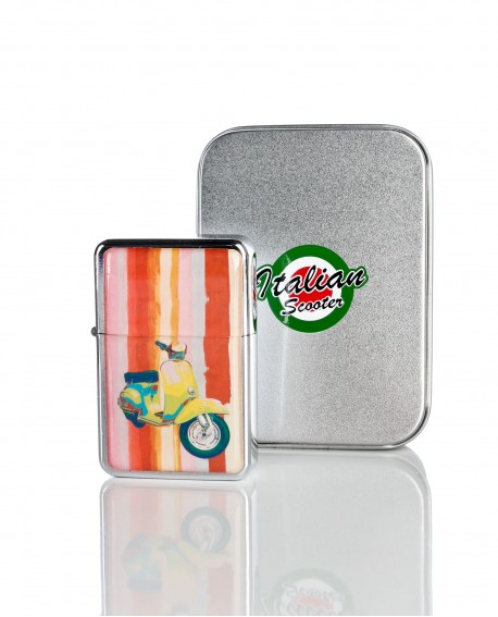 Encendedor tipo zippo vespa