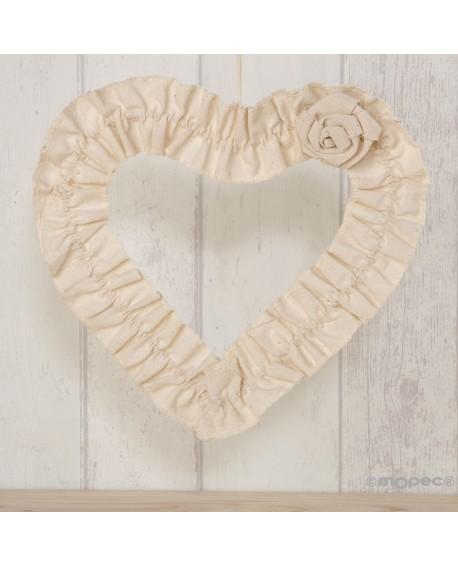 Colgante decoración de corazón