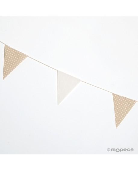 Guirnalda bandera de tela