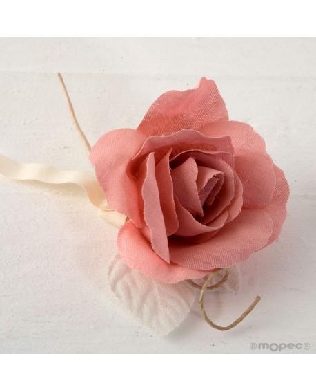 Rosa de lino