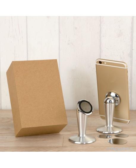 Soporte magnético para móviles en caja de regalo.