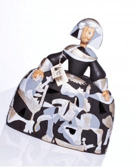 Menina Guernica plata