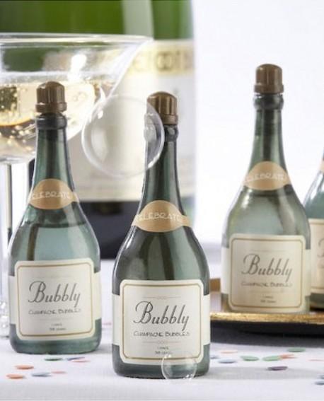 Pomperos de champagne para bodas