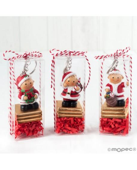 Llavero de Navidad con dulces