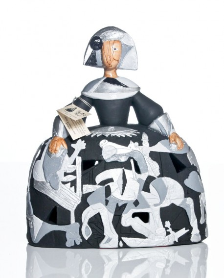Menina Guernica blanca