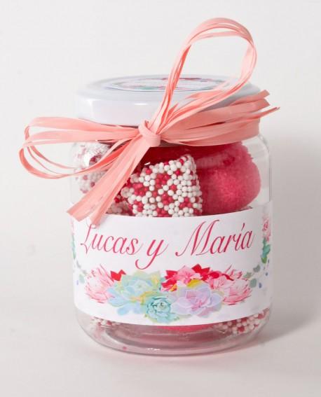 Tarro chuches moras y fresas