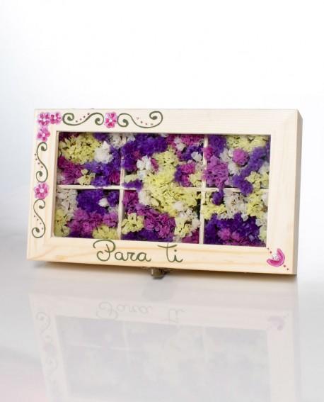 Caja de flores..
