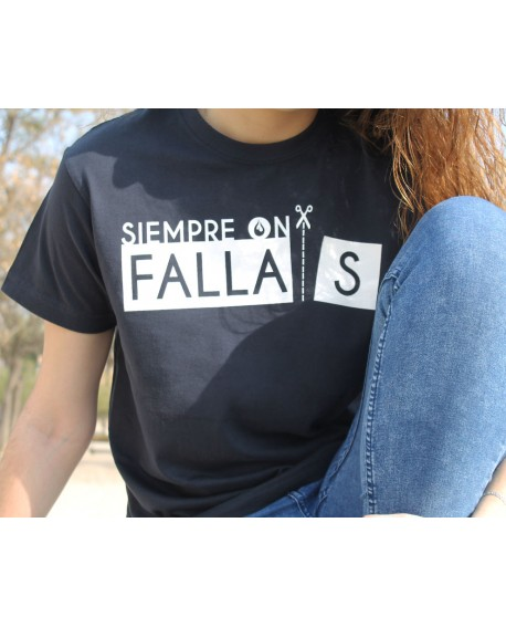 "Camiseta fallera ""Siempre On...Fallas"""
