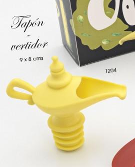 Tapón - vertidor lampara mágica.