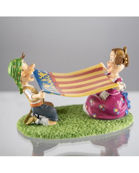 Figura picnic fallero