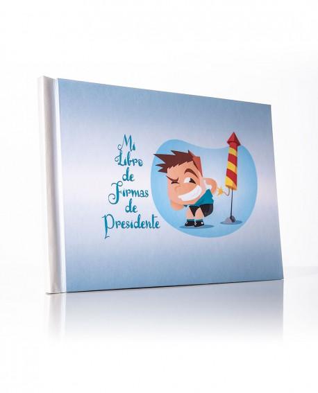 Libro de firmas de Presidente Infantil
