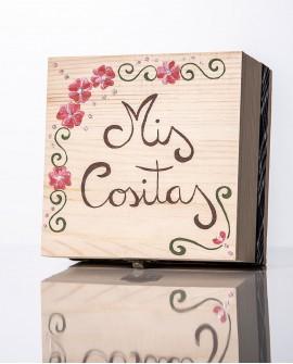 "Caja de ""Mis cositas""."