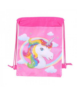 Mochila saco de unicornio.