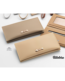 Billetera caramelo Love