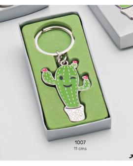 Llavero esmaltado de cactus