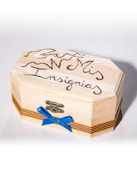 "Caja de ""Mis insignias""."