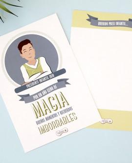 Tarjeta Presidente Infantil