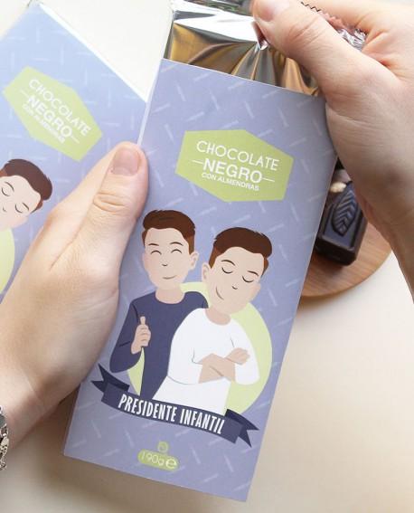 Tableta de chocolate Presidente Infantil