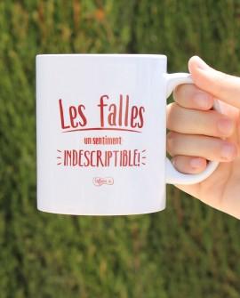 """Taza de porcelana """"Les Falles"""""""