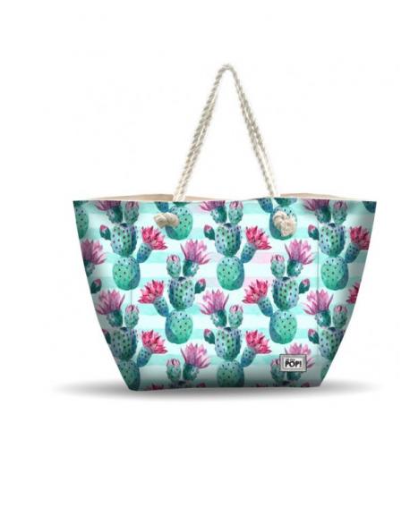 Bolsa de playa Cactus