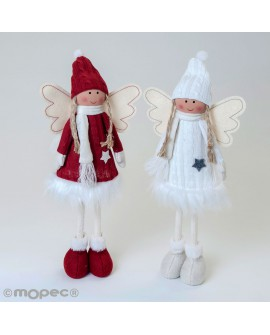 Angelitas navideñas decorativos
