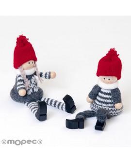 Muñecos de navidad decorativos