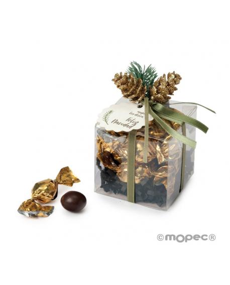 Caja de dulces de Navidad