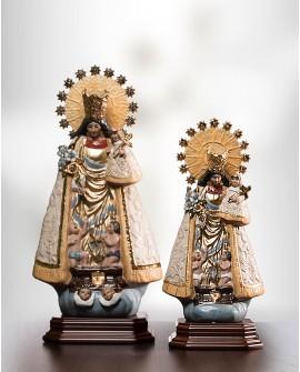 Virgen de los Desamparados sin fajín Gres pequeña