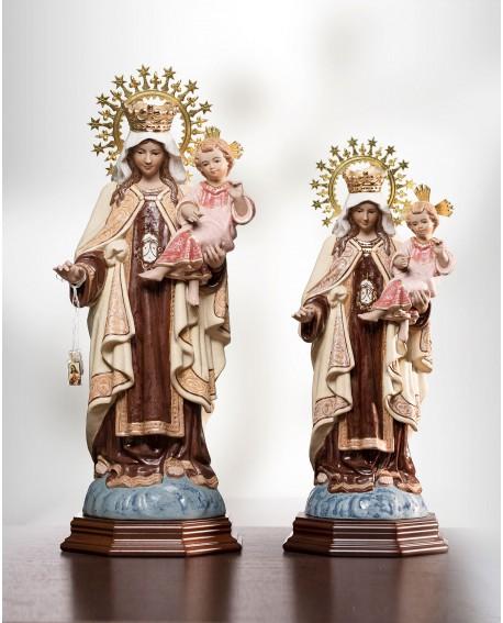 Virgen del Carmen pequeña