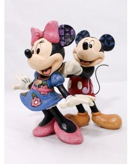 Pareja Mickey y Minnie