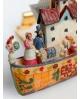 Adorno árbol de Navidad de arca de Noé