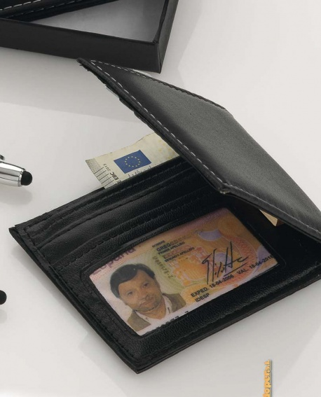 cartera negra clásica