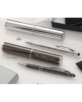 Bolígrafo funda aluminio