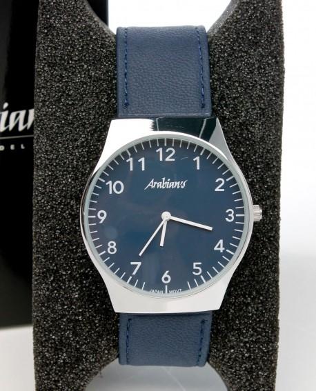 Reloj azul Arabians caballero