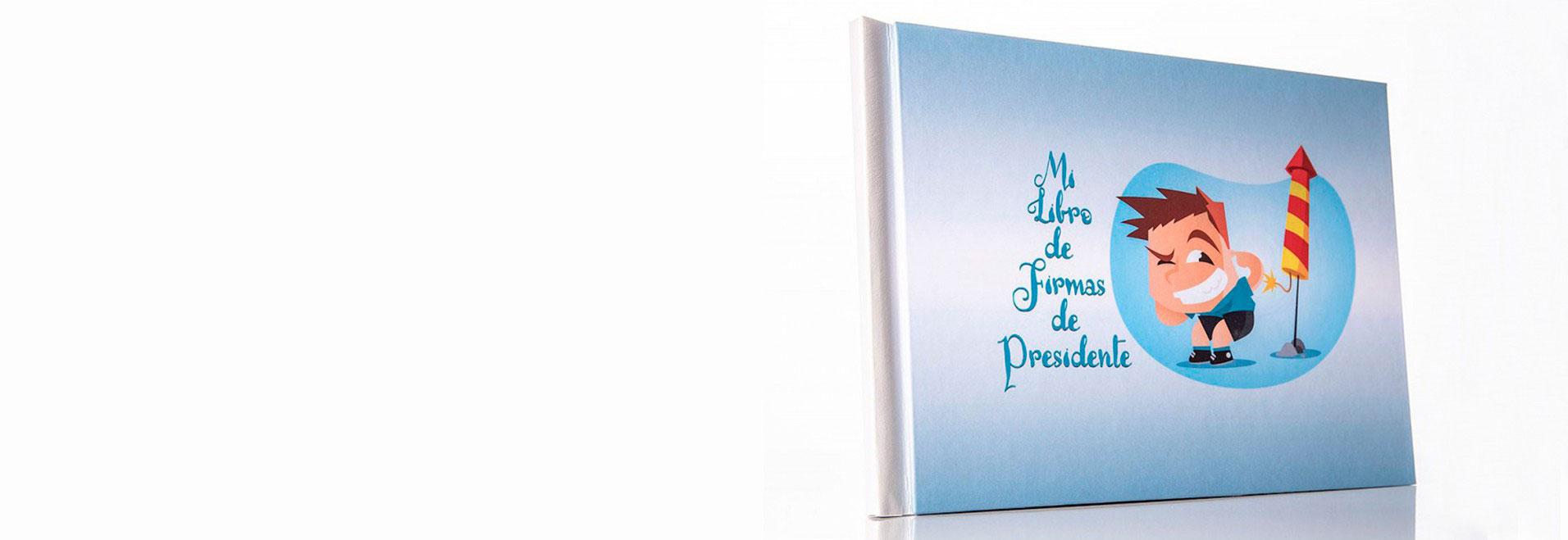 libro de firmas para presidente